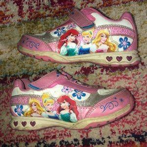 Princess light up shoes